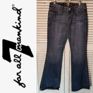 7FAMK 7 For All Mankind A Pocket Bootcut Jeans 28